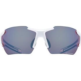 UVEX Sportstyle 803 Colorvision Glasses white/black matt/litemirror amber